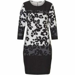 Betty Barclay Animal Print Jersey Dress