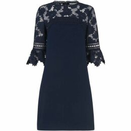 Whistles Regina Lace Panel Dress