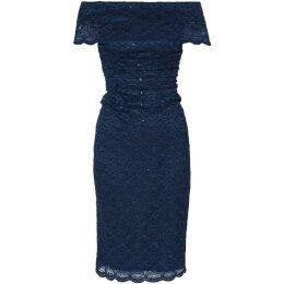 Gina Bacconi Stacey Sequin Lace Dress