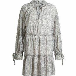 All Saints Adara Leodot Printed Dress