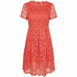 Yumi Guipur Floral Lace Dress