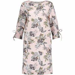 Betty Barclay Leaf Print Dress