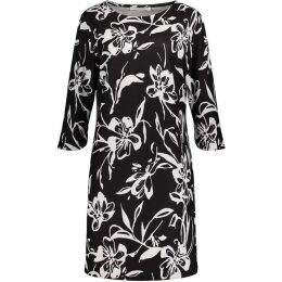 Betty Barclay Monochrome Print Dress