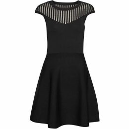 French Connection Rose Crepe Knit Dress