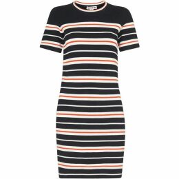 Whistles Milano Stripe Knitted Dress