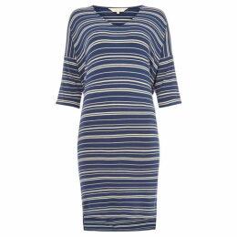 Part Two Dericka stripe jersey dress