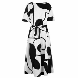 Marella Art 365 Waist Tie Dress