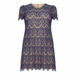 Mela Lace V Neck Tunic Dress
