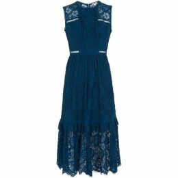 Whistles Rosie Lace Panel Dress