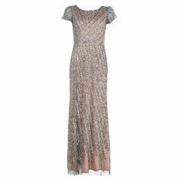 Adrianna Papell AP Bead Long Dress Ld93