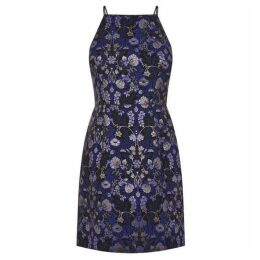 Oasis Warner Jacquard Lace Back Shift Dress