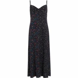 French Connection Aubine Fluid Strappy Floral Maxi Dress