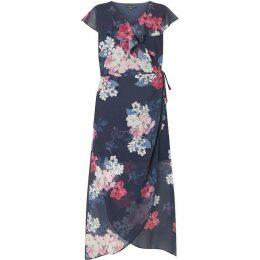 Dorothy Perkins Curve Floral Chiffon Maxi Dress