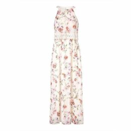 Adrianna Papell Bonita Oasis Halter Maxi Dress