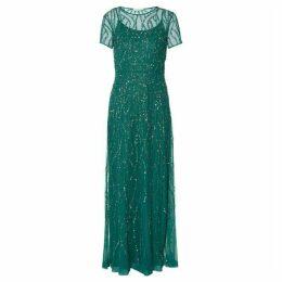 Gina Bacconi Macey Beaded Maxi Dress