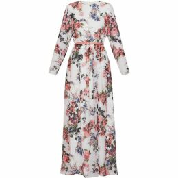 Gina Bacconi Dionne Chiffon Maxi Dress