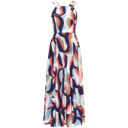 Damsel in a Dress Caprice Printed Maxi Dress