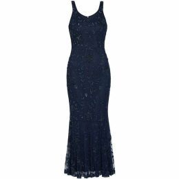 Gina Bacconi Zaina Beaded Maxi Dress
