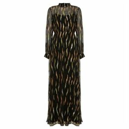 Phase Eight Penny Shimmer Silk Maxi Dress