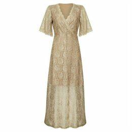 Mela Floral Lace Maxi Dress