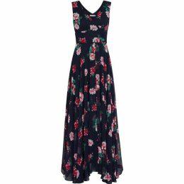 Gina Bacconi Edana Chiffon Maxi Dress