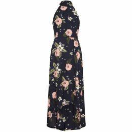 Mela Floral Dipped Hemline Maxi Dress