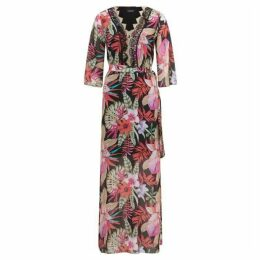 James Lakeland Floral Print Maxi Dress