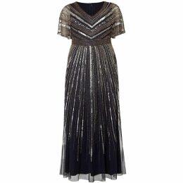 Studio 8 Avalon Beaded Maxi Dress