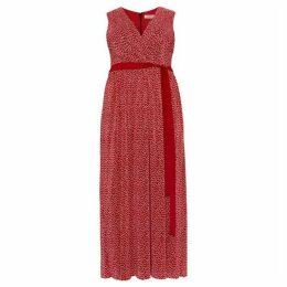 Studio 8 Faye Plisse Maxi Dress