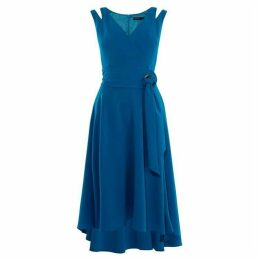 Karen Millen Belted Fluid Midi Dress
