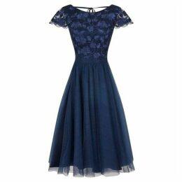 Chi Chi 3D Bodice Midi Dress