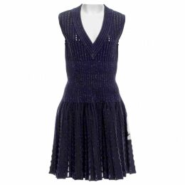Wool mini dress