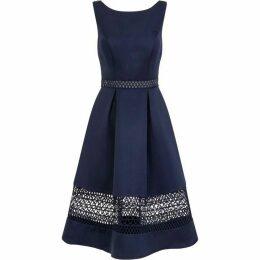 Chi Chi Crochet Panel Midi Dress