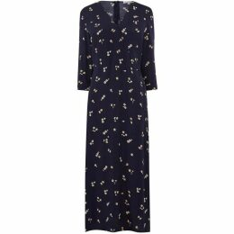 Warehouse Verity Ditsy Floral Midi Dress