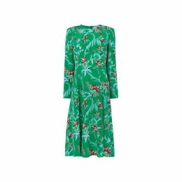 LK Bennett Leanie Floral Midi Dress