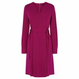 Karen Millen Soft Pleat Midi Dress