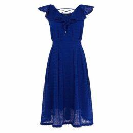 Karen Millen Broderie Midi Dress
