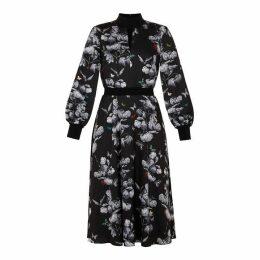 Ted Baker Narnia Midi Length A-Line Dress