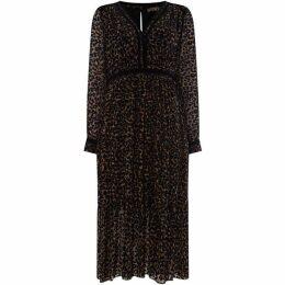 Biba Leopard Devoree Midi Dress