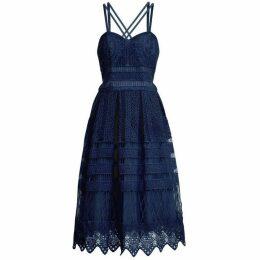 Chi Chi Crochet Midi Dress