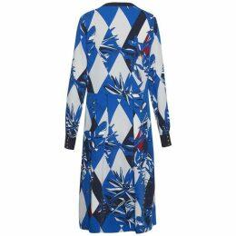 Tommy Hilfiger Joan Long Sleeve Midi Dress