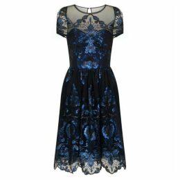Chi Chi Sequinned Midi Dress