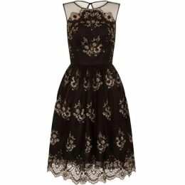 Chi Chi Embroidered Midi Dress