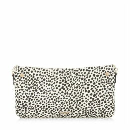 Dune Bronwynn Slim Zip Top Clutch Bag