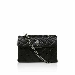 Kurt Geiger London Leather Kensington X Bag Cross Body Bags