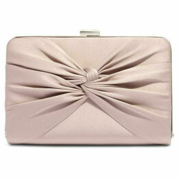 Phase Eight Kendall Satin Knot Front Clutch Bag