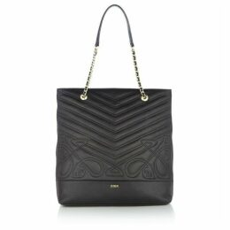Biba Rosa north south leather tote