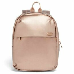 Lipault Miss Plume Pink Gold Backpack