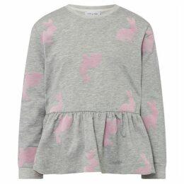 Rose and Wilde Flocked Bunny Sweatshirt