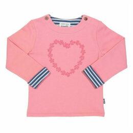 Kite Toddler Daisy Heart Sweatshirt